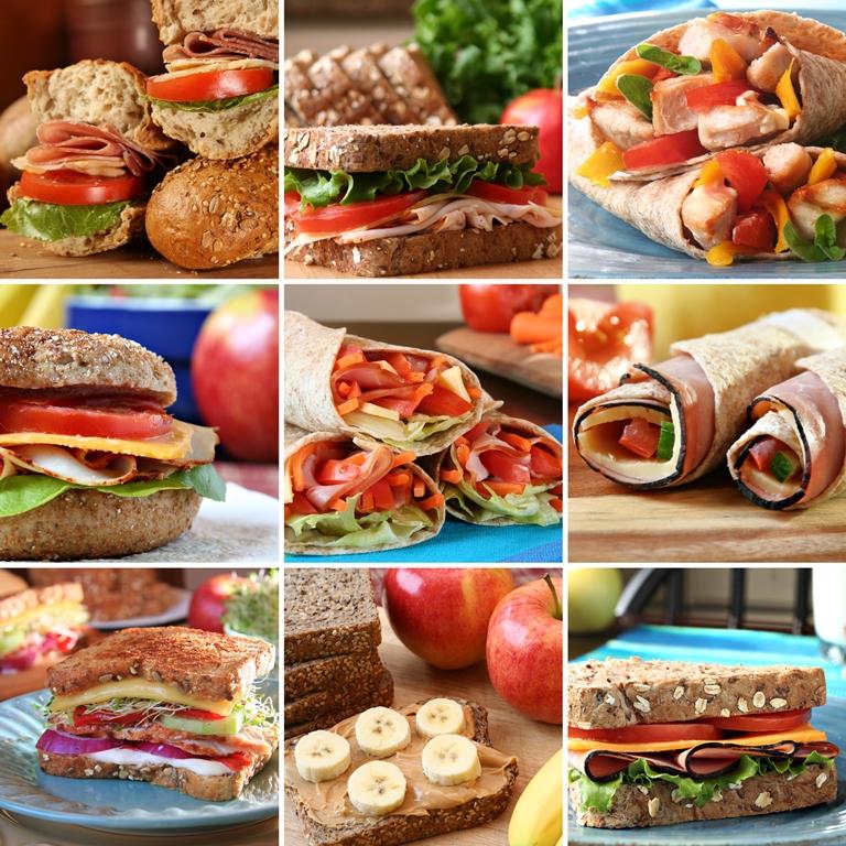 Sandwiches, Wraps, Fresh, Meat, Vegaterian, Vegan